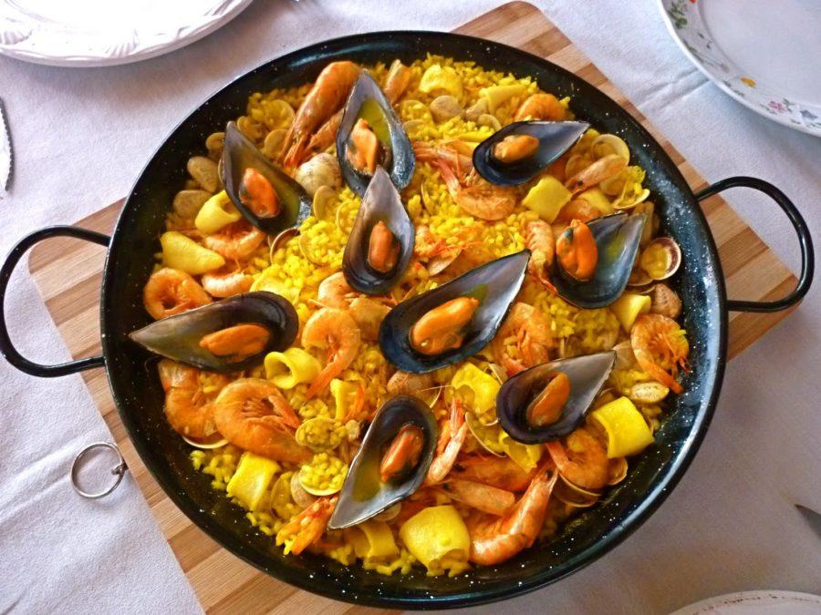 Receta de Paella Mixta con Maricos